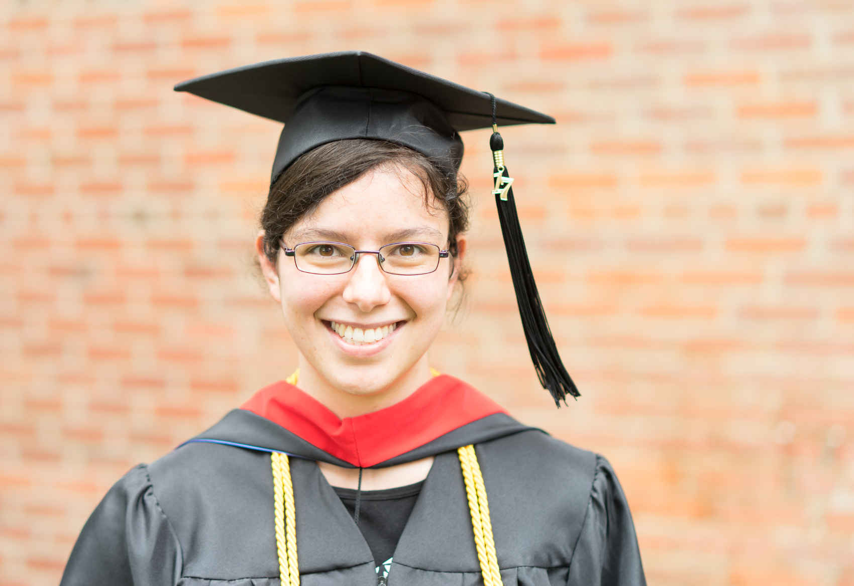 Maricka Herrer - GBSC's first Masters graduate