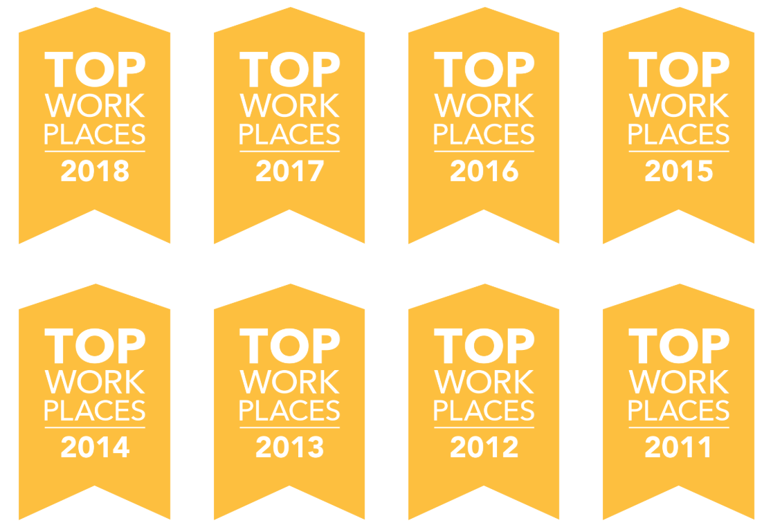 Top Workplaces - Eight Straight